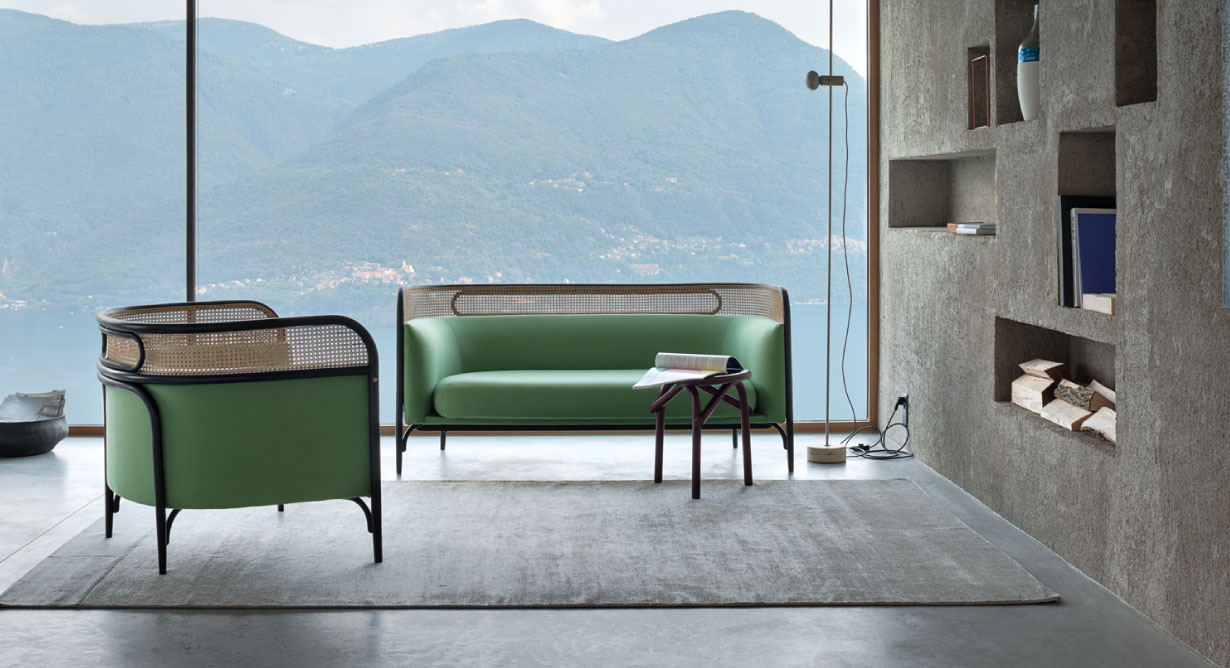 Targa sofa + chair